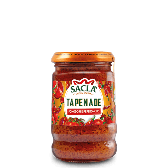 Tomato and chilli tapenade