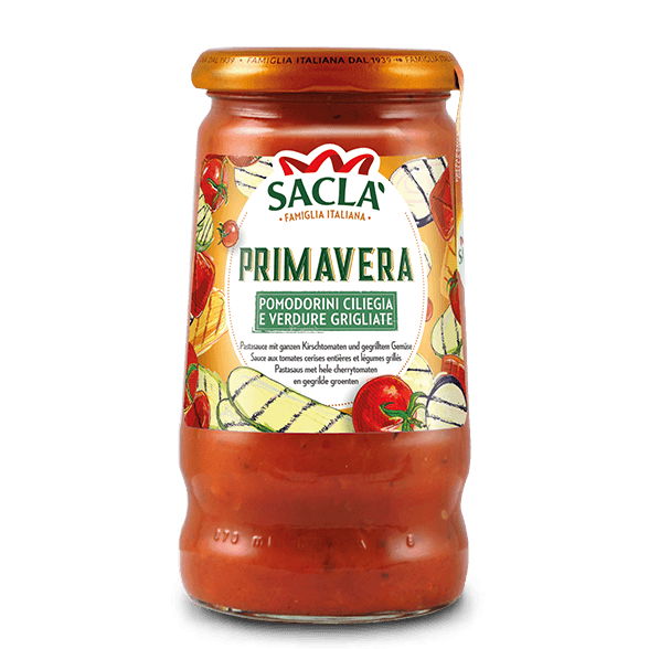 Primavera – cherry tomatoes and roasted vegetables (350g)