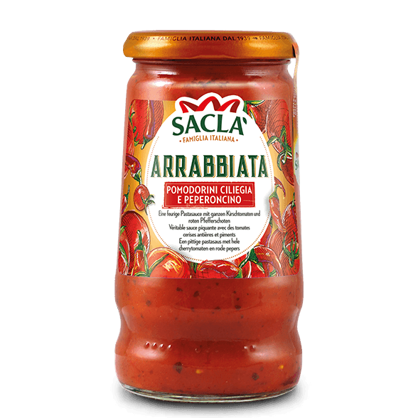 Arrabbiata – cherry tomatoes and chilli (350g)