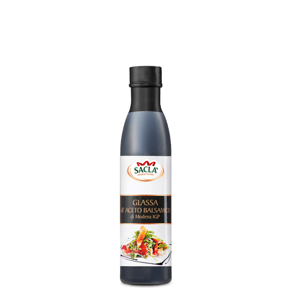 Balsamic vinegar glaze of Modena IGP
