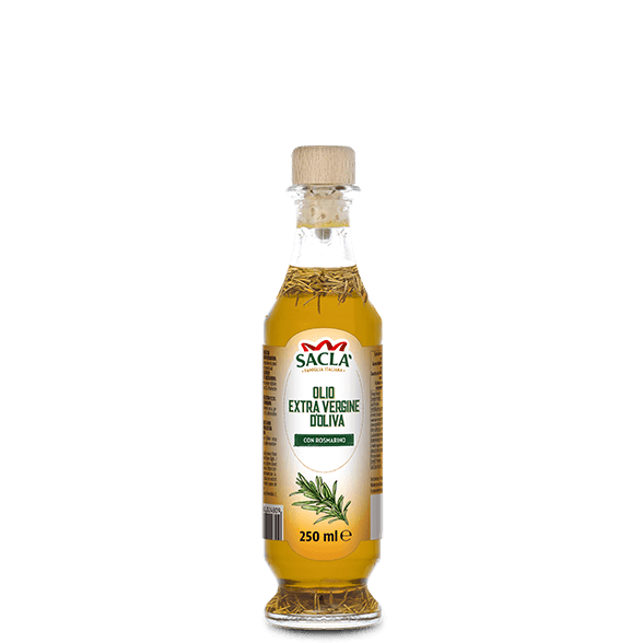 Extra virgin olive oil seasoning with rosemary